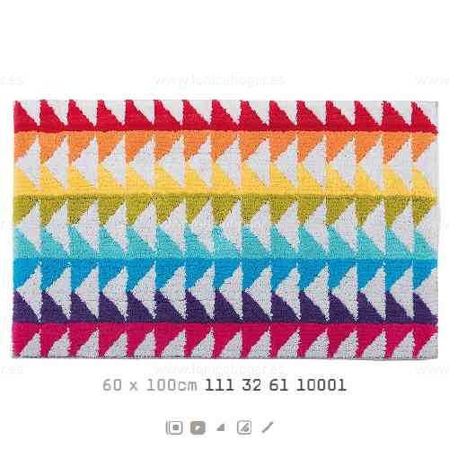 Alfombra Baño BLOCK AM de Sorema Multicolor Alf.Baño 60x100