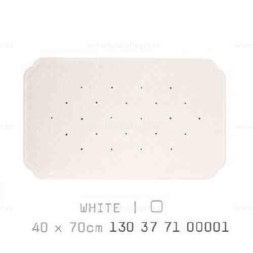 Alfombra Bañera CAIRO AM de Sorema Blanco Alf.Baño 40x70