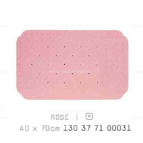 Alfombra Bañera CAIRO AM de Sorema Rosa Alf.Baño 40x70