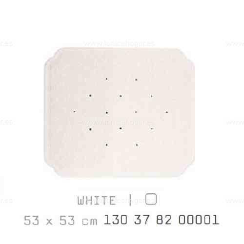 Alfombra Bañera CAIRO AM de Sorema Blanco Alf.Baño 53x53