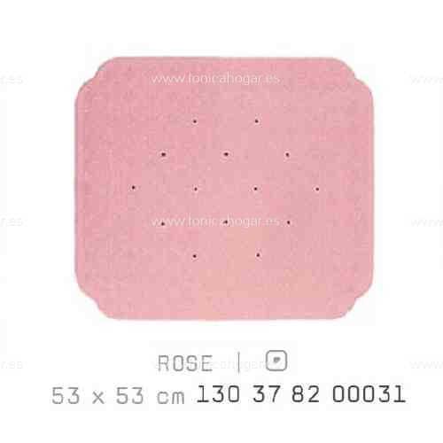 Alfombra Bañera CAIRO AM de Sorema Rosa Alf.Baño 53x53