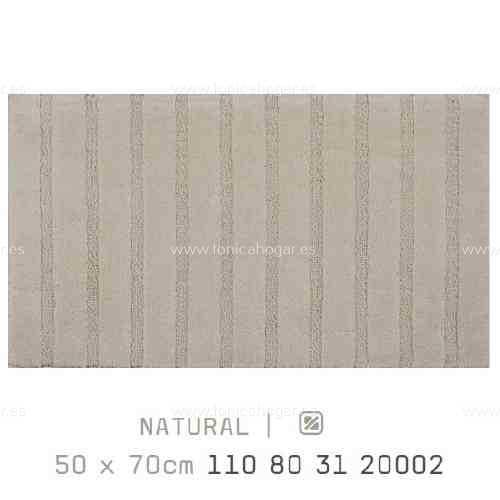 Alfombra Baño CALIFORNIA AM de Sorema Natural Alf.Baño 50x80