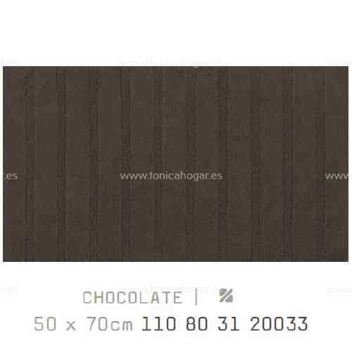 Alfombra Baño CALIFORNIA AM de Sorema Chocolate Alf.Baño 50x80
