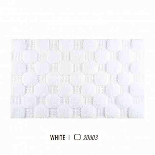 Alfombra de Baño CHESS AM de Graccioza White Alf.Baño 50x80 White Alf.Baño 60x100