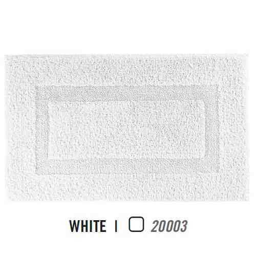 Alfombra de Baño CLASSIC AM de Graccioza White Alf.Baño 60x60 White Alf.Baño 50x80 White Alf.Baño 60x100 Alf.Baño 70x120 White White Alf.Baño 80x160
