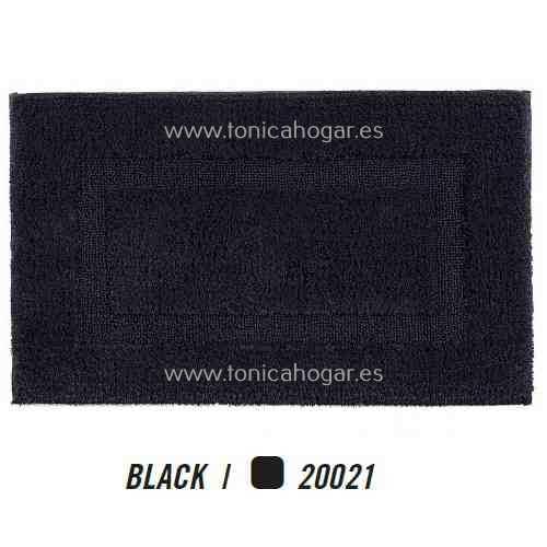 Alfombra de Baño CLASSIC AM de Graccioza Black Alf.Baño 50x80 Black Alf.Baño 60x100