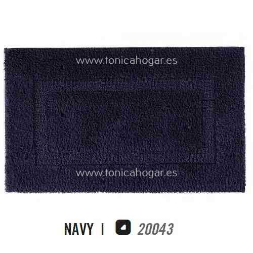 Alfombra de Baño CLASSIC AM de Graccioza Navy Alf.Baño 50x80 Navy Alf.Baño 60x100