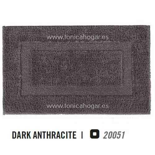 Alfombra de Baño CLASSIC AM de Graccioza Dark Anthracite Alf.Baño 50x80 Dark Anthracite Alf.Baño 60x100