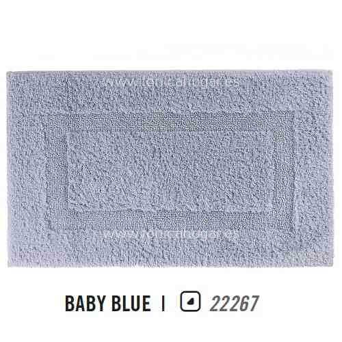 Alfombra de Baño CLASSIC AM de Graccioza Baby Blue Alf.Baño 50x80 Baby Blue Alf.Baño 60x100
