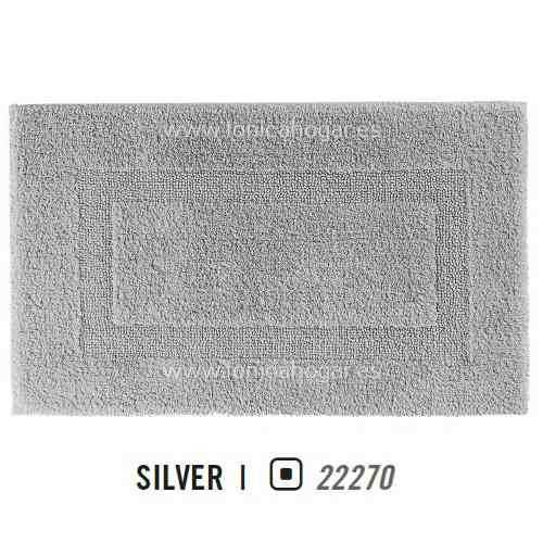 Alfombra de Baño CLASSIC AM de Graccioza Silver Alf.Baño 50x80 Silver Alf.Baño 60x100