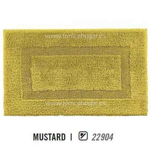 Alfombra de Baño CLASSIC AM de Graccioza Mustard Alf.Baño 50x80 Mustard Alf.Baño 60x100