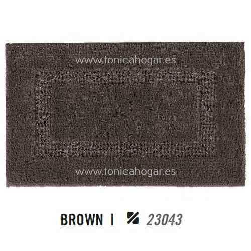 Alfombra de Baño CLASSIC AM de Graccioza Brown Alf.Baño 50x80 Brown Alf.Baño 60x100