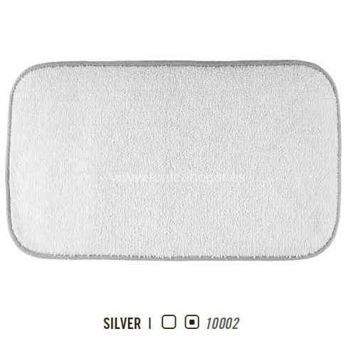 Alfombra de Baño CONTOUR REVERSIBLE AM de Graccioza Silver Alf.Baño 60x100