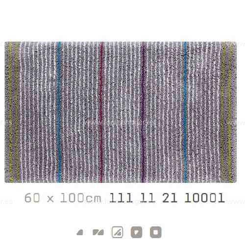 Alfombra Baño DROP AM de Sorema Gris Alf.Baño 60x100