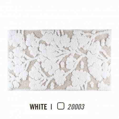 Alfombra de Baño EDEN WHITE AM de Graccioza White Alf.Baño 50x80 White Alf.Baño 60x100