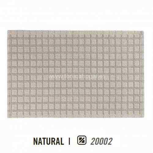 Alfombra de Baño LINEN SQUARE AM de Graccioza Natural Alf.Baño 50x80