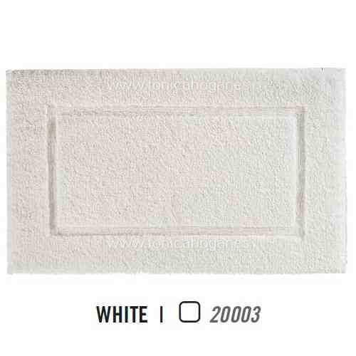 Alfombra de Baño PRESTIGE AM de Graccioza White Alf.Baño 60x60 White Alf.Baño 50x80 White Alf.Baño 60x100 White Alf.Baño 70x120 White Alf.Baño 80x160