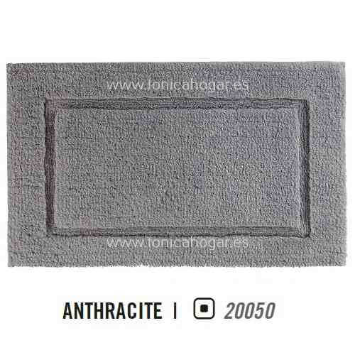 Alfombra de Baño PRESTIGE AM de Graccioza Anthacite Alf.Baño 50x80 Alf.Baño 60x100 Anthacite