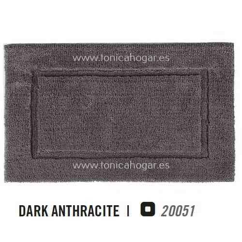 Alfombra de Baño PRESTIGE AM de Graccioza Dark Anthracite Alf.Baño 50x80 Dark Anthracite Alf.Baño 60x100