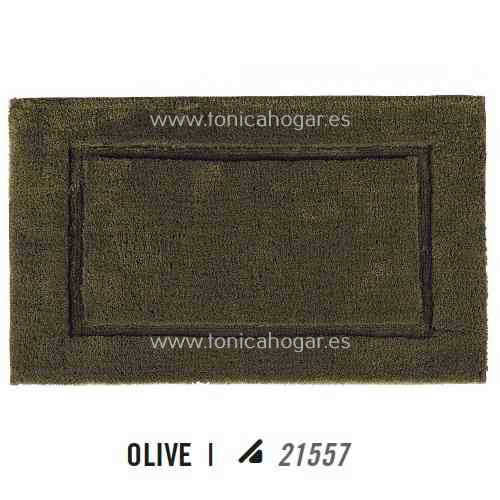 Alfombra de Baño PRESTIGE AM de Graccioza Olive Alf.Baño 50x80 Olive Alf.Baño 60x100