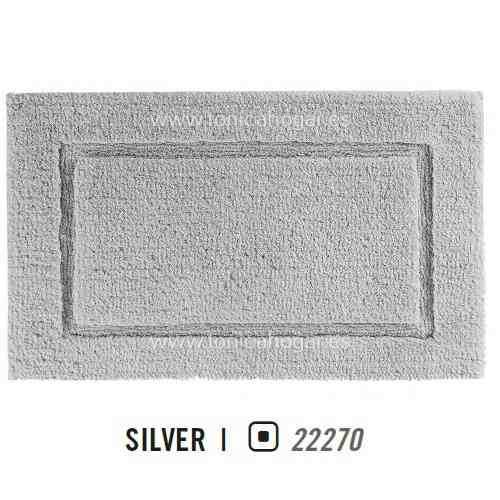 Alfombra de Baño PRESTIGE AM de Graccioza Silver Alf.Baño 50x80 Silver Alf.Baño 60x100