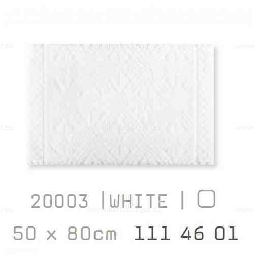 Alfombra Baño RETRO AM de Sorema Blanco Alf.Baño 50x80