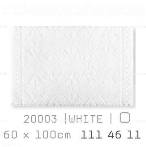 Alfombra Baño RETRO AM de Sorema Blanco Alf.Baño 60x100