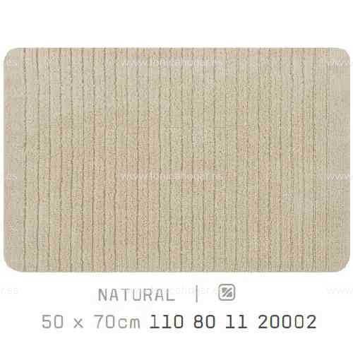 Alfombra Baño RIVER AM de Sorema Natural Alf.Baño 50x70