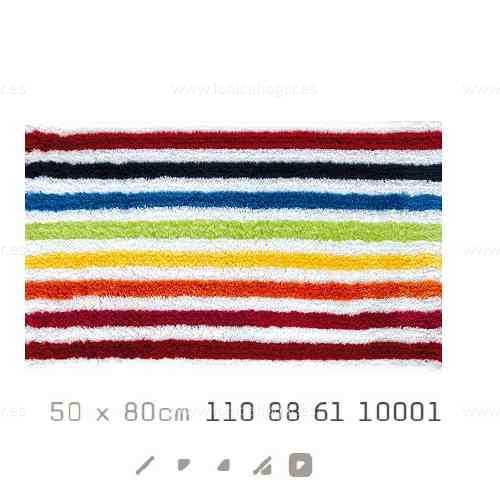 Alfombra Baño SHINE AM de Sorema Multicolor Alf.Baño 50x80