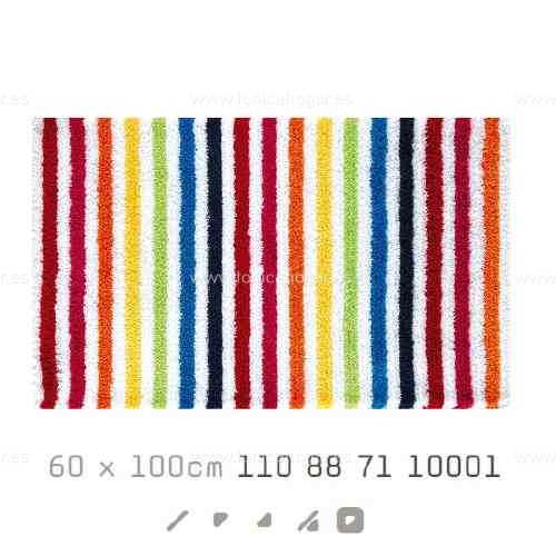 Alfombra Baño SHINE AM de Sorema Multicolor Alf.Baño 60x100