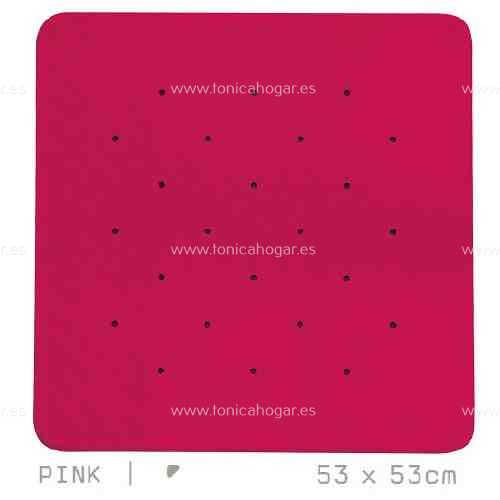 Alfombra Bañera SIMPLY AM de Sorema Rosa Alf.Baño 53x53