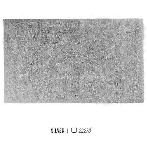 Alfombra de Baño SPA SPONGE COTTON CLOUD AM de Graccioza Silver Alf.Baño 70x120