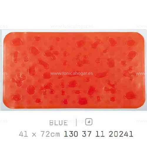 Alfombra Bañera SPLASH AM de Sorema Naranja Alf.Baño 41x72
