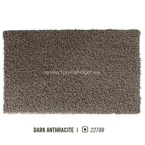 Alfombra de Baño TWISTED AM de Graccioza Dark Anthracite Alf.Baño 60x100 Dark Anthracite Alf.Baño 70x120