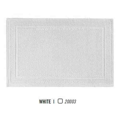 Alfombrilla de Baño BEE WAFFLE AM de Graccioza White Alf.Baño 50x80
