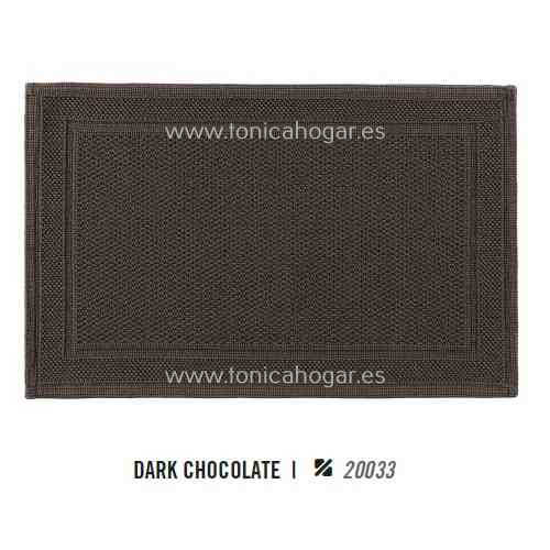 Alfombrilla de Baño BEE WAFFLE AM de Graccioza Dark Chocolate Alf.Baño 50x80