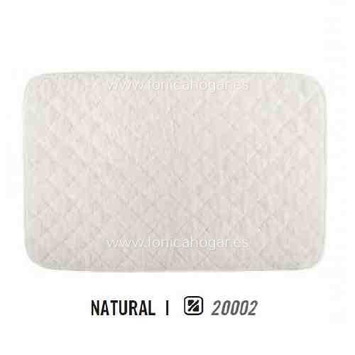 Alfombrilla de Baño LONG DOUBLE LOOP AM de Graccioza Natural Alf.Baño 50x80