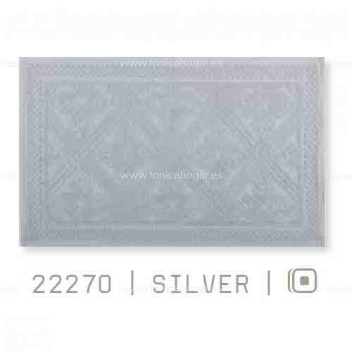 Alfombrilla Baño RETROs AM de Sorema Silver Alf.Baño 50x70