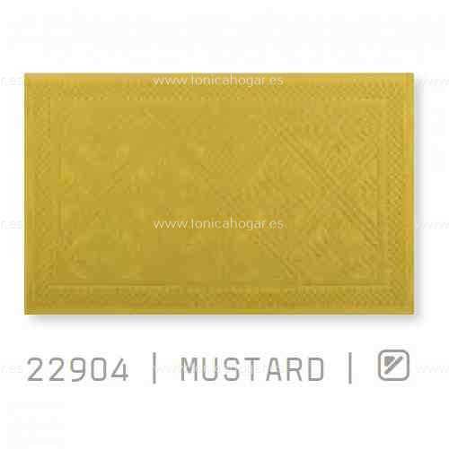 Alfombrilla Baño RETROs AM de Sorema Mustard Alf.Baño 50x70