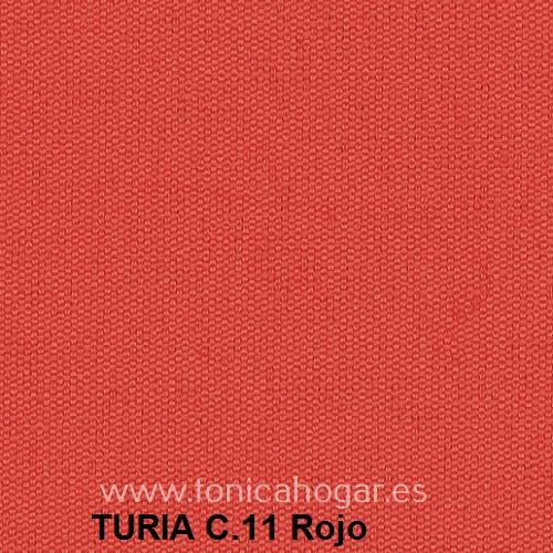 Cojín TURIA de Cañete C.11 Rojo Cojín 50x70