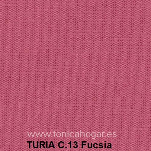 Cojín TURIA de Cañete C.13 Fucsia Cojín 50x70