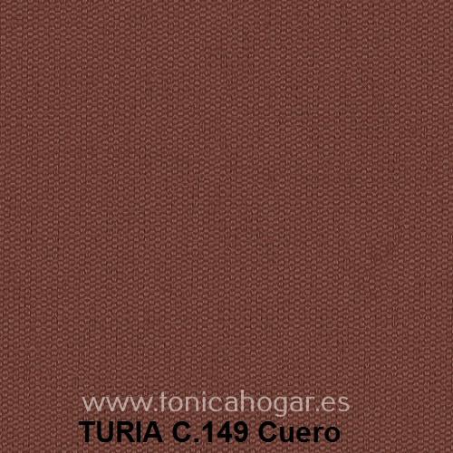 Cojín TURIA de Cañete C.149 Cuero Cojín 50x70