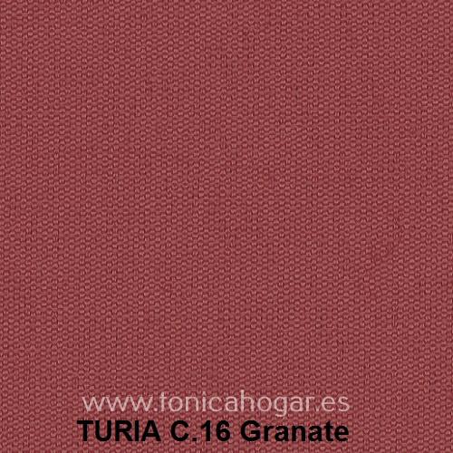 Cojín TURIA de Cañete C.16 Granate Cojín 50x70