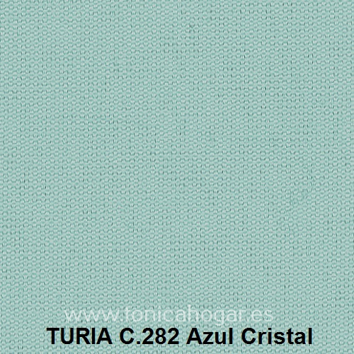 Cojín TURIA de Cañete C.282 Azul_Cristal Cojín 50x70