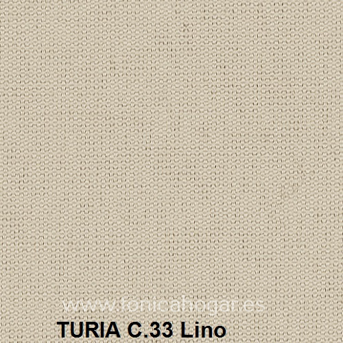 Cojín TURIA de Cañete C.33 Lino Cojín 50x70