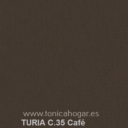 Cojín TURIA de Cañete C.35 Café Cojín 50x70