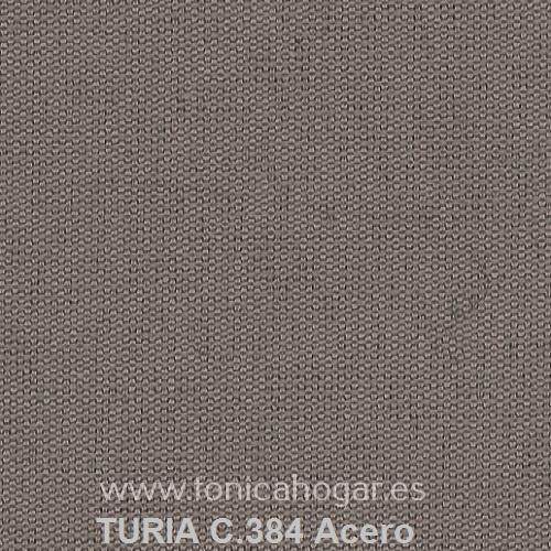 Cojín TURIA de Cañete C.384 Acero Cojín 50x70