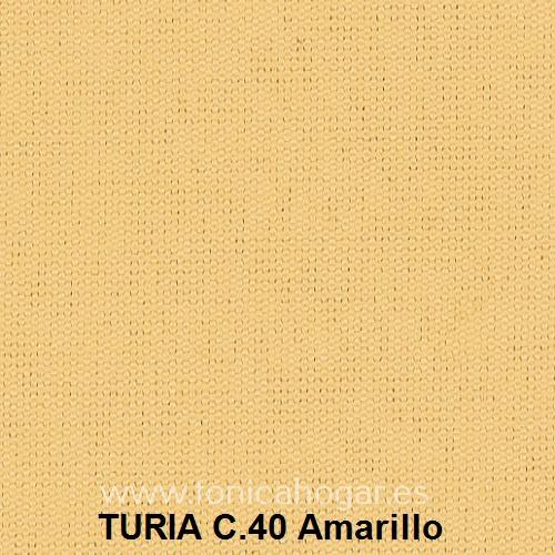Cojín TURIA de Cañete C.40 Amarillo Cojín 50x70