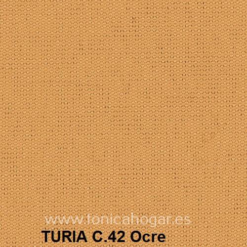 Cojín TURIA de Cañete C.42 Ocre Cojín 50x70