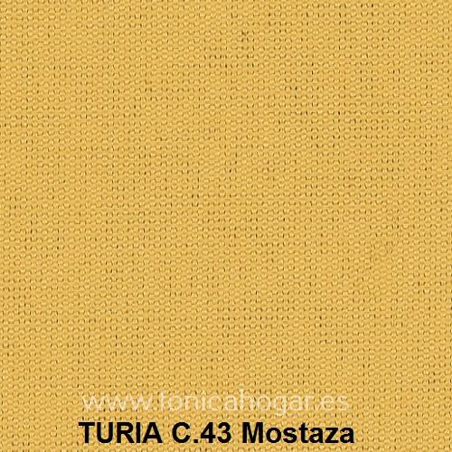 Cojín TURIA de Cañete C.43 Mostaza Cojín 50x70